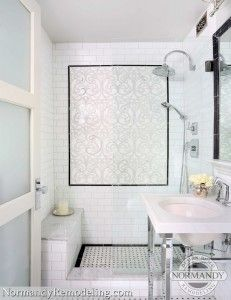 small Bathroom remodel and Makeover With Before and After. easy industrial, farmhouse, minimalist etc From Single Sink Vanity to Double Sink Bathroom Remodel. Condo Bathroom, Small Bathroom, Master Bathroom, Bathroom Ideas, Bathroom Remodeling, Remodeling Ideas, Bathroom Gray, Tiny Bathrooms, Master Shower