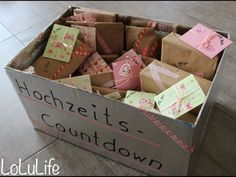 Hochzeits-Countdown – LoLuLife part mariage mariage boheme champetre champetre deco deco robe romantique decorations dresses hairstyles Diy Wedding, Wedding Favors, Wedding Events, Wedding Ceremony, Wedding Gifts, Wedding Flowers, Wedding Day, Unique Wedding Presents, Gown Wedding