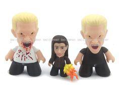 3pcs Buffy The Vampire Slayer Bloody Spike Dark Willow Titans Vinyl Figures Toys  | eBay