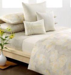 Calvin Klein Poppy Design Duvet Cover and pillow shams $35.50