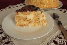Песочный торт с лимонным кремом, рецепт с фото. Готовим торт из песочного теста с лимоном.