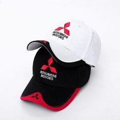 e1bf5952f80 Wholesale 2017 New 3D Mitsubishi Hat Cap Car logo MOTO GP Racing F1  Baseball Cap Hat
