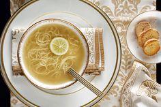 Σούπα γαλοπούλας - Συνταγές | γαστρονόμος Panna Cotta, Ethnic Recipes, Food, Dulce De Leche, Essen, Meals, Yemek, Eten
