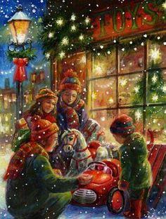 Es tiempo de amar y compartir con nuestros seres queridos...  Estamos exactamente a una semana de celebrar navidad...  ¡Buenos días!