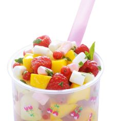 Fruitsalade met marshmallows - recept Jumbo supermarkt