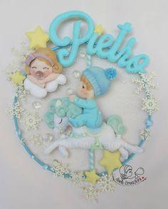 Baby Crafts, Felt Crafts, Diy And Crafts, Adoption Gifts, Adoption Party, Baby Activity Chair, Felt Wreath, Unicorn Birthday Parties, Handmade Felt