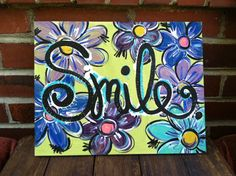 Simple Reminder Painted Canvas