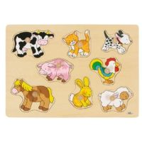 Goki Plug Farm VII Puzzle 8 piece - has knobs Disney Films, Disney Characters, Fictional Characters, Puzzles For Toddlers, Thing 1, Puzzle Books, Learning Toys, Christmas Toys, Puzzle Pieces