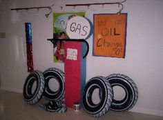 road trip vbs theme | More fantastic Decorations done by our Decoration Committee