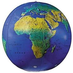 Edu Science World Globe 12 inch Diameter Globemaster   Living rooms and Room