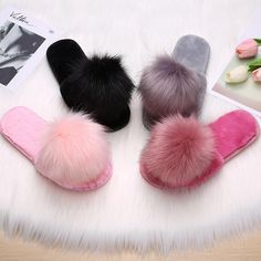 Quality Hair and slippers women autumn children 2018 new style wear Korean fashion home anti slip thick bottom moon cotton slippers with free worldwide shipping on AliExpress Mobile Diamante Lingerie, Heel Boots For Women, Ladies Shoes, Shoes Women, Tall Winter Boots, Equestrian Boots, Comfy Shoes, Waterproof Boots, Ciabatta