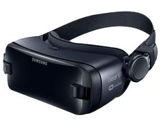 SAMSUNG Gear VR mit Controller ((SM-R324)) Virtual Reality Brille, Orchid Gray kaufen | SATURN
