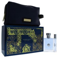 c434bfe532cd Versace Pour Homme by Versace for Men - 3 Pc Gift Set 3.4oz EDT Spray