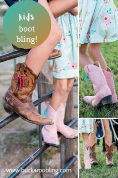 A great collaboration with Megan Jolley Photography on these fun leather fringe accessories for children's cowgirl boots.