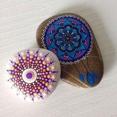 #mandalas #paintedstones #paintedrocks #mandala #rocks #stones…
