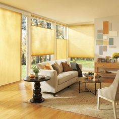 modern window coverings and interior decorating ideas