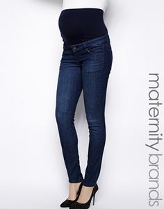 Image 1 ofMamalicious Slim Leg Jean