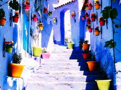 The beautiful blue city of Chefchaouen Nature Architecture, Chefchaouen, Eye Candy, Destinations, Photography Backdrop Stand, Marrakech Morocco, Tangier, Blue City, Best Kept Secret