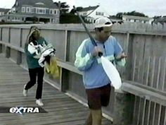 I have several folders of them in Hyannis in 1995, four of which are from around Labor Day, and one is not labeled with a date. I'm not sure if the unlabeled one (where she's wearing a…