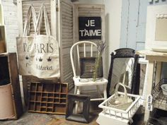 Shabby Chic Vendor Booth   photo