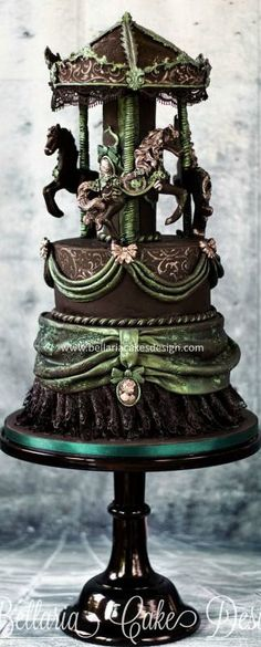 Gothic Carousel Cake #coupon code nicesup123 gets 25% off at  http://leadingedgehealth.com