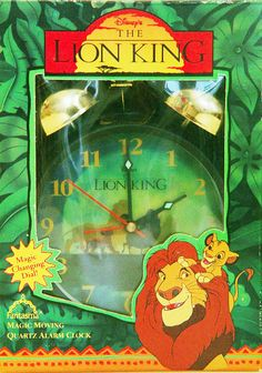 Disney Lion King Alarm Clock Vintage Style-New by VintageUpcycled