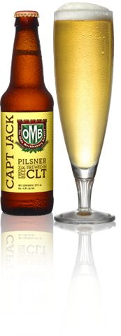 "Olde Mecklenberg Capt Jack Pilsner - This is a quality beer. One of my favorite pilsners. Excellent work from a ""small local"" brewery."