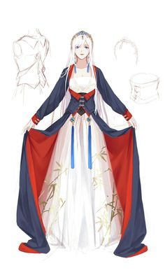 Discover recipes, home ideas, style inspiration and other ideas to try. Pretty Anime Girl, Anime Art Girl, Anime Guys, Fantasy Characters, Female Characters, Character Outfits, Character Art, 4 Panel Life, Anime Dress