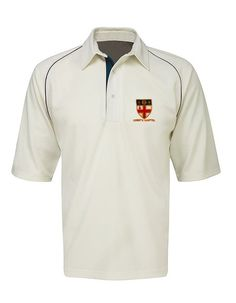 Christs Hospital Cricket Shirt:  (Please note, delivery of these shirts is due into us w/c 14th April 2014. All being well, shirts should arrive in time for the start of the Summer Term.)