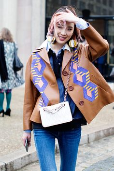 On the Street…In & Out of Miu Miu, Paris