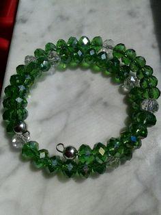 Swarvoski Crystal Bracelet by MMscreativejewelry on Etsy, $20.00