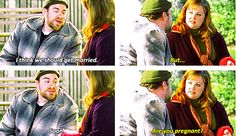 """When she reacted like this to a marriage proposal. 