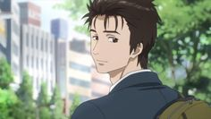 Parasyte Shinichi new look he is SO HOT! After Migi patched him up and we saw his body in the mirror...*faints*
