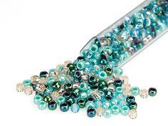 Artbeads Sandy Beaches Designer Blend, 8/0 TOHO Round Seed Beads