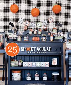 25 Spooktacular DIY Projects