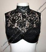 Black Lace Custom Pole Fitness Wear Dance Costume