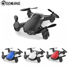 Mini Foldable Remote Control Drone With/Without HD Camera High Hold Mode Rc Drone, Drone Quadcopter, Drone Diy, Wi Fi, Drone With Hd Camera, Remote Control Drone, Photography Gear, Aerial Photography, Rc Helicopter