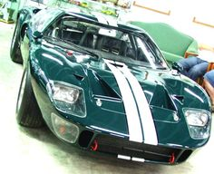 GT40 Ford. Every 10year old's fantasy where I grew up in the mid sixties. LeMans, McQueen, Stirling Moss and Jack Brabham all staple hero's...