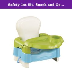 Safety 1st Sit, Snack and Go Booster. The Sit, Snack and Go 5 Mode Booster Seat by Safety 1st gives parents multiple ways to accommodate their growing child. Smaller children start out with a full seat that includes armrests and tray. As they grow, it's easy for you to move through the several different modes to best suit the needs of your child. In any mode, the booster folds for easy travel and storage, making it a great seat for parents on the go! Dimensions: 16 H x 14.5 W x 11 D Some...