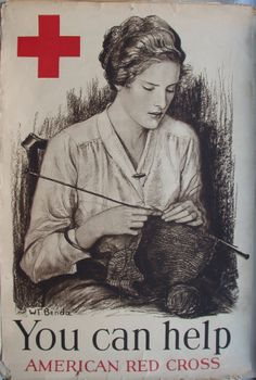 "Red Cross ""You Can Help"" (artist, W.T. Benda)"