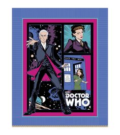 Giftable No Sew Throw-Doctor Who Police Public Call