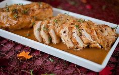 cider chicken with caramelized shallots
