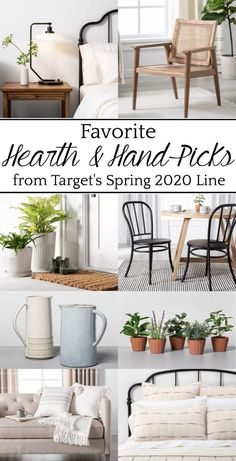 Fave Picks from Target's New Spring 2020 Decor - Bless'er House So many textures, so many classic pieces that will last for years, and so many items that evoke the perfect balance of modern and vintage.  #target #homedecor