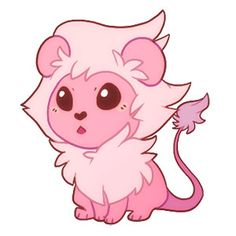 Steven Universe Wallpaper, Lion Steven Universe, Steven Universe Drawing, Pink Diamond Steven Universe, Universe Art, Cute Disney Drawings, Kawaii Drawings, Cute Drawings, Lion Drawing
