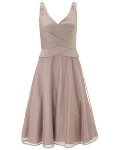 Bonnie Tulle Dress   Nude   Monsoon