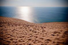 sleeping bear dunes.