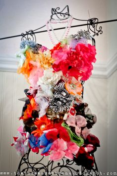 Most beautiful hair accessory holder ever!