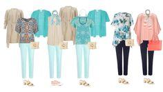Holiday Capsule wardrobe example