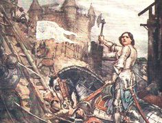 St. Joan of Arc rallying her troops, Siege of Orleans