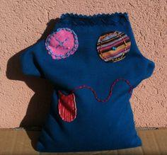 mostricchio: sacchetto con semi riscaldabile e raffreddabile